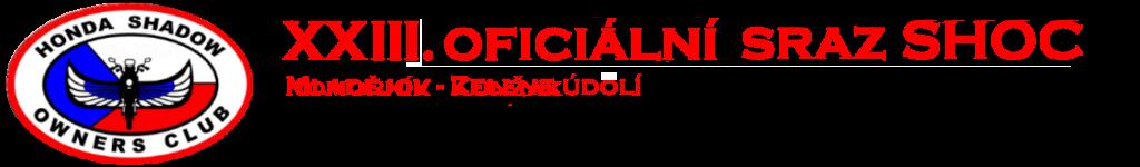 XXIII. oficiální sraz SHOC